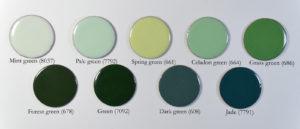 Fig 4: Smalti verdi opachi su rame.