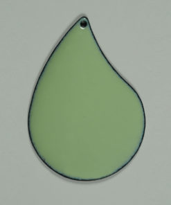 pale green opaque